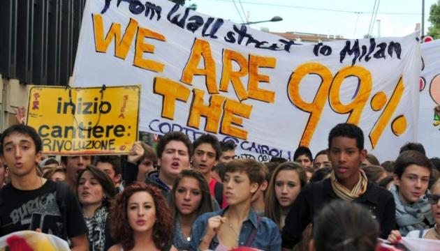 У Мілані десятки тисяч людей протестували проти расизму