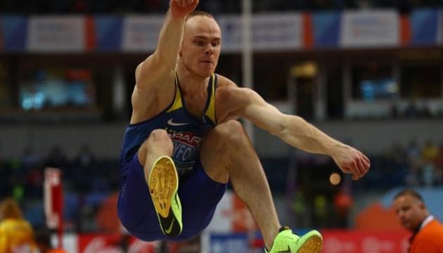 Никифоров і Мазур залишилися без медалей чемпіонату Європи в стрибках у довжину