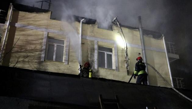 Рятувальники ліквідували пожежу в одному з будинків столиці