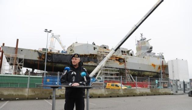 """У Норвегії планують """"реанімувати"""" військове судно, що затонуло торік"""