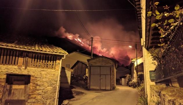 В Іспанії вирують лісові пожежі