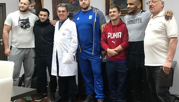 Провідні українські борці-класики пройшли поглиблене медичне обстеження