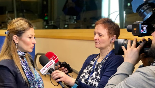 Джапарова у Брюсселі розповіла про ситуацію в окупованому Криму
