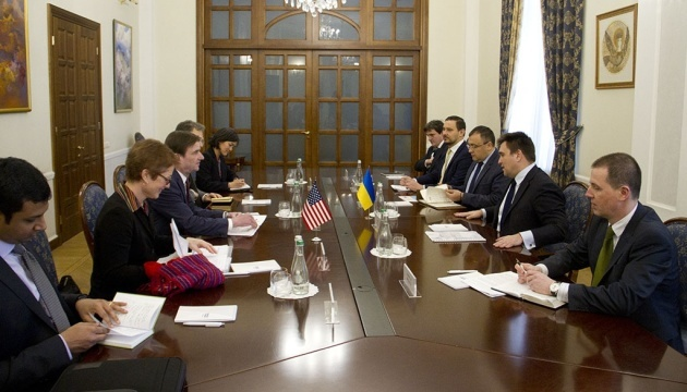 Klimkin, Hale discuss security and defense cooperation to counter Russian aggression
