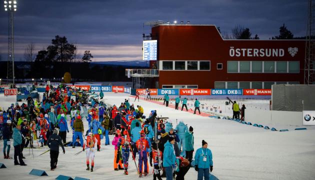 Одиночна змішана естафета продовжить чемпіонат світу з біатлону у Швеції