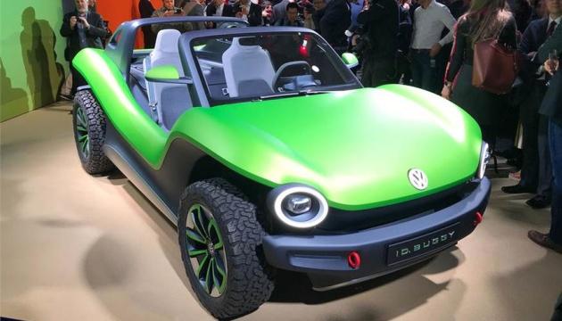 Volkswagen представив електрокар без дверей і даху
