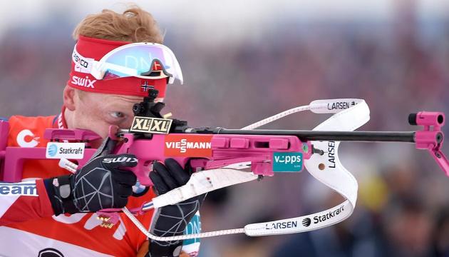 ЧС з біатлону: Норвегія виграла змішану естафету, Україна на 7 місці