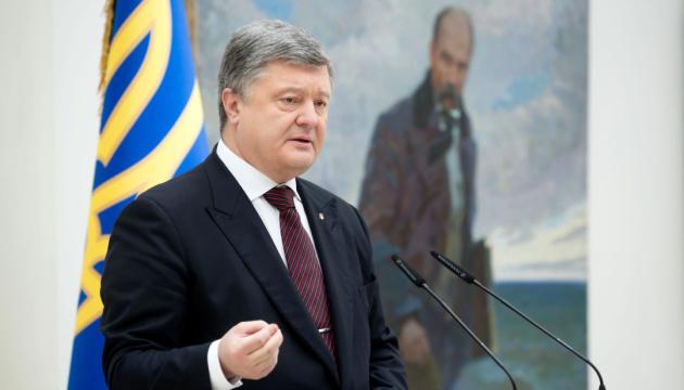 Präsident: Schewtschenkos Worte inspirierten Generationen von Kämpfern um Unabhängigkeit der Ukraine