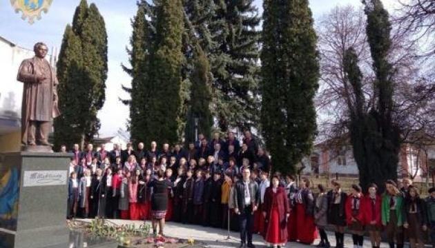 У райцентрі Буськ на Львівщині відкрили пам`ятник Кобзареві