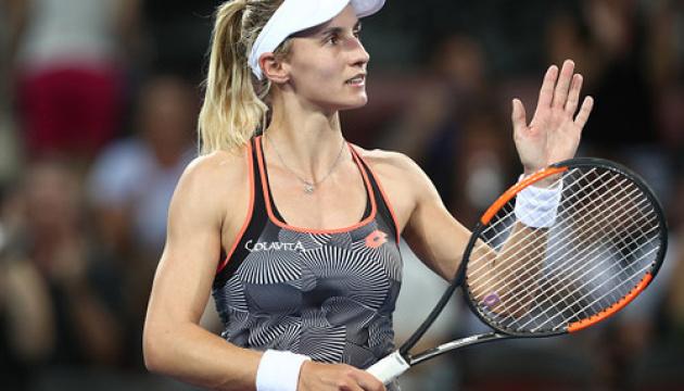 У понеділок на турнірі WTA в Індіан-Веллсі від України зіграє Леся Цуренко
