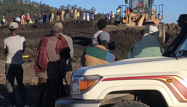 Знайшли чорну скриньку літака, який розбився в Ефіопії