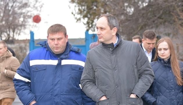 Председатель МинВОТ в Мариуполе побывал на фильтровальной станции