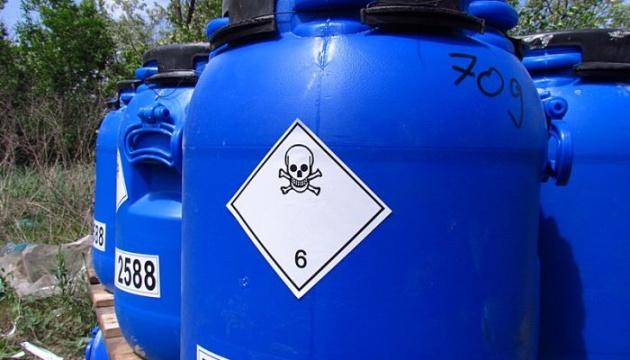 На Сумщині накопичено понад півтисячі тонн непридатних пестицидів
