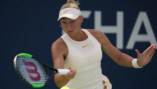 Лопатецька стартувала з перемоги на тенісному турнірі в Нісі-Тамі