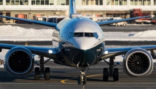 Украина запретила полеты на Boeing 737 MAX