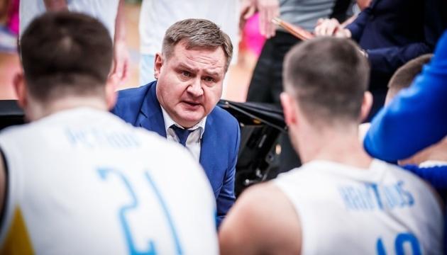 Мурзін залишив пост головного тренера збірної України з баскетболу