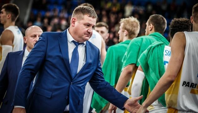 Евгений Мурзин оценил свою работу во главе сборной Украины по баскетболу