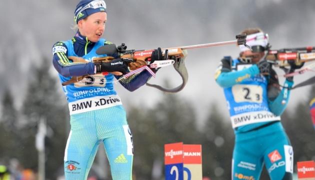 Українська біатлоністка пробилася до ТОП-10 чемпіонату світу