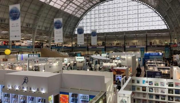 Україна вперше відкрила національний стенд на Лондонському книжковому ярмарку