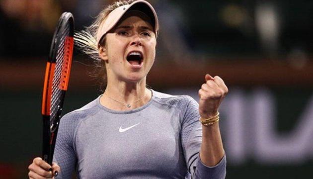 Світоліна вийшла до чвертьфіналу тенісного турніру в Індіан-Веллсі
