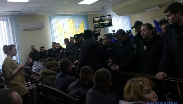 Двох фігурантів сутичок у Черкасах відпустили під домашній арешт