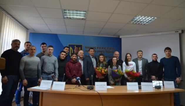 На молодіжному ЧЄ з боротьби збірна України здобула 13 медалей