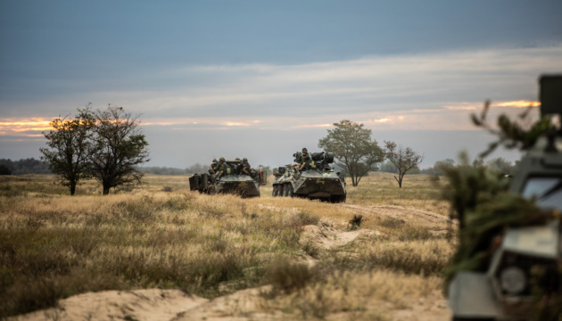 Okupanci ostrzelali cztery miejscowości, strat nie odnotowano