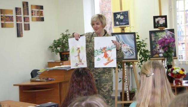 Картини українки-військової здобули друге місце на конкурсі мистецтв у Туреччині