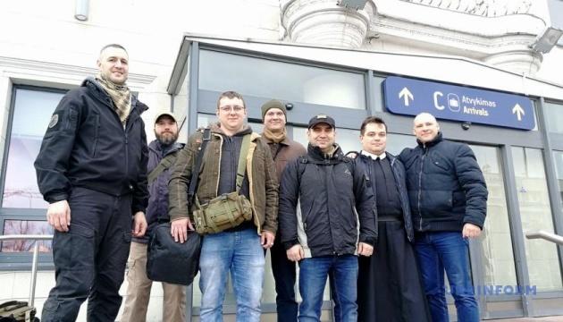 П'ятеро українських військових приїхали на реабілітацію до Литви