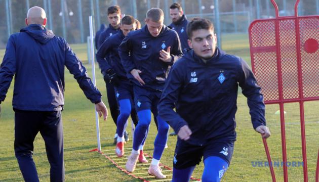 Через травми «Динамо» тренувалося без 9 гравців основи