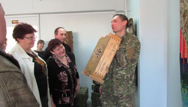 У Краматорську відкрилася виставка військово-польового арту