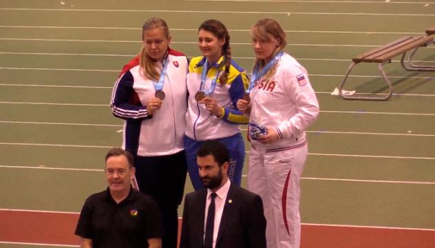 Українка взяла «золото» на чемпіонаті світу з легкої атлетики в Талліні