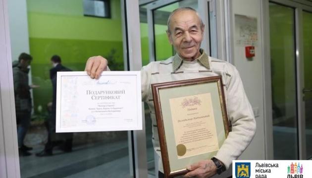 Кращого двірника Львова нагородили туром по Європі