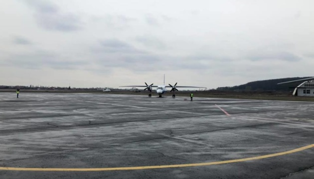 Ужгородський аеропорт прийняв перший рейс із Києва