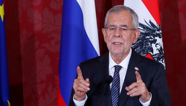 El presidente de Austria en una reunión con el ministro de Exteriores de Rusia pidió a la liberación de Sentsov