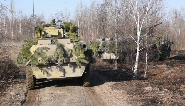 Под Житомиром прошли учения командиров десантников