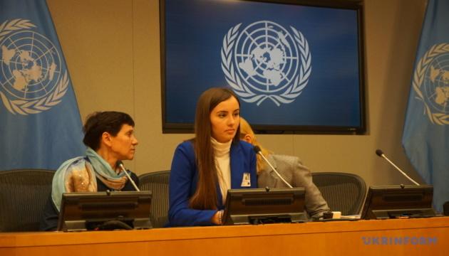 Донька українського моряка закликала в ООН звільнити військовополонених