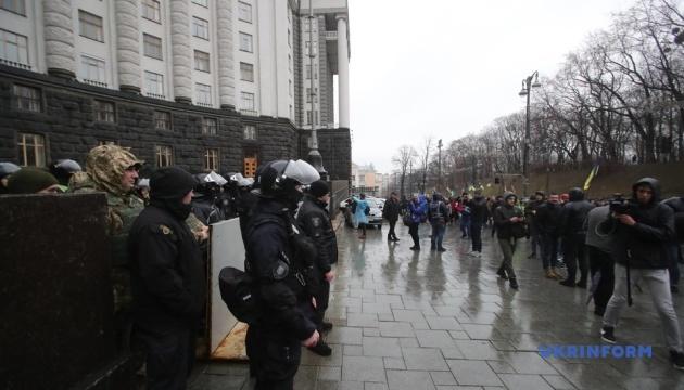 Близько 2 тисяч демонстрантів взяли участь у київській акції - МВС