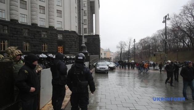 Акція протесту: Нацкорпус вирушив на Банкову