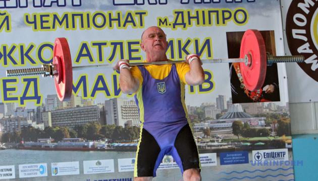 Чемпионат Украины по тяжелой атлетике среди мастеров в Днепре