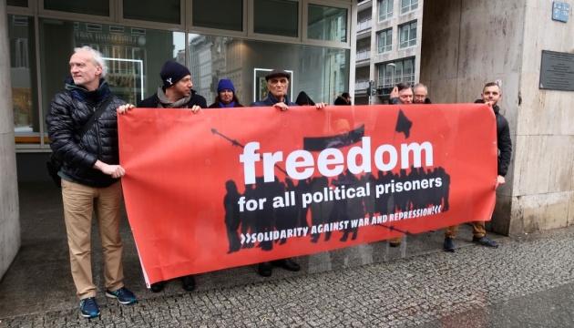 Активісти Берліна виступають за звільнення політв'язнів