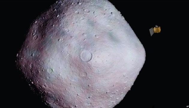 Апарат NASA передав на Землю нові знімки астероїда Бенну