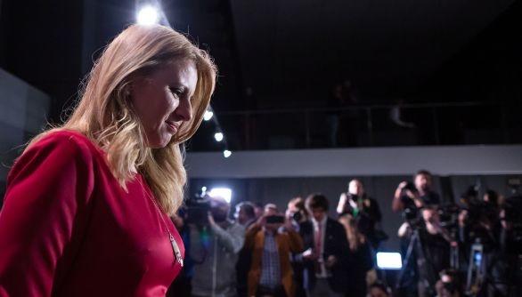 Выборы в Словакии: в первом туре с большим отрывом лидирует Чапутова