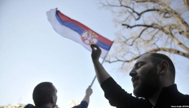 Пикетчики окружили резиденцию президента Сербии и требуют его отставки