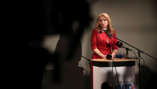 В Словакии победу в первом туре президентских выборов одержала Чапутова