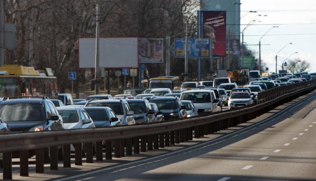 Київ - на сьомому місці у світі за кількістю заторів