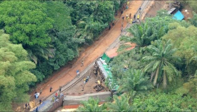 У Конго зійшов із рейок потяг, понад 20 загиблих