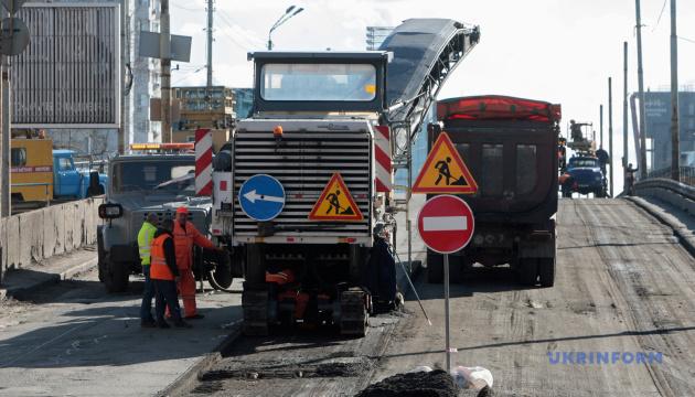 Из-за ремонта Шулявского моста временно закроют движение по проспекту Победы
