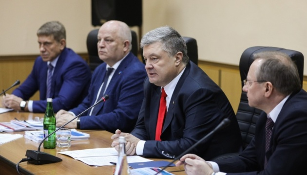 Poroshenko: Ukraine becomes first world country to diversify nuclear fuel supplies