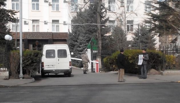В Крыму прошли одиночные пикеты против произвола российских
